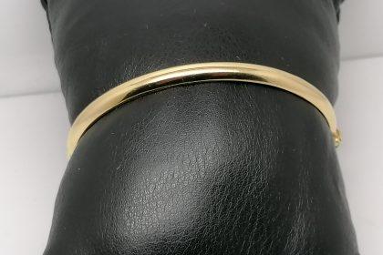 Pulsera rigida media caña de 5 mms